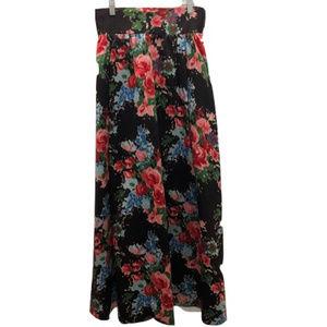 St. Laurent Vintage Silk Skirt, Size 10